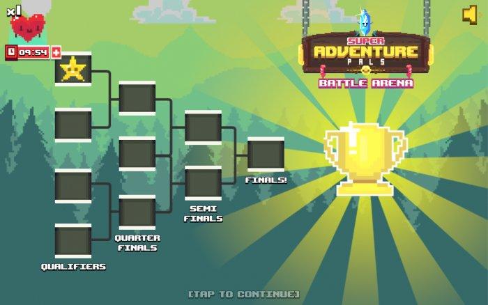 Mad Super Adventure Battle