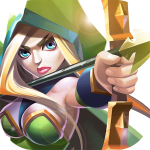 Magic Rush: Heroes – онлвый стратегия