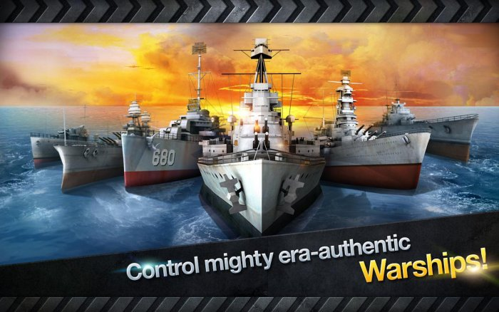 WARSHIP BATTLE: 3D World War II