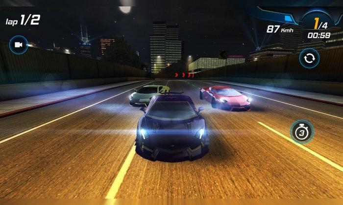 Car Racing 3D: High on Fuel
