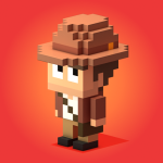 Blocky Raider – сложная пиксельная игра