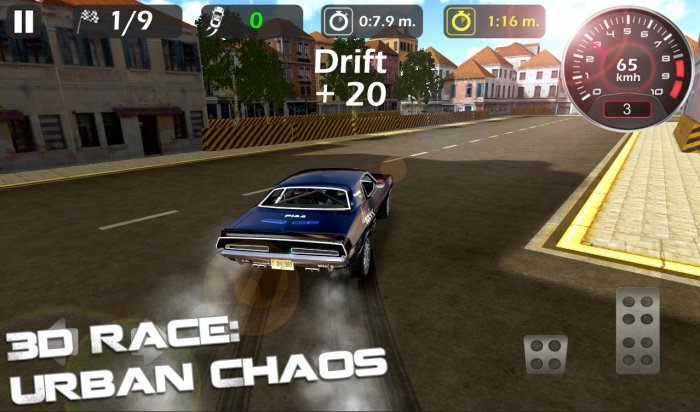 3d Race : Urban Chaos