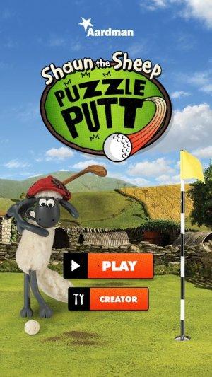 Shaun the Sheep - Puzzle Putt