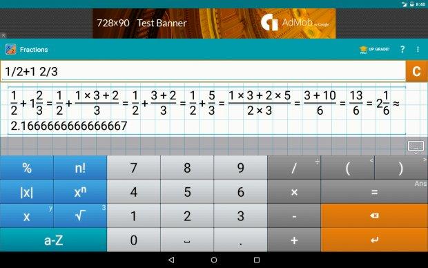 Калькулятор Дробей от Mathlab