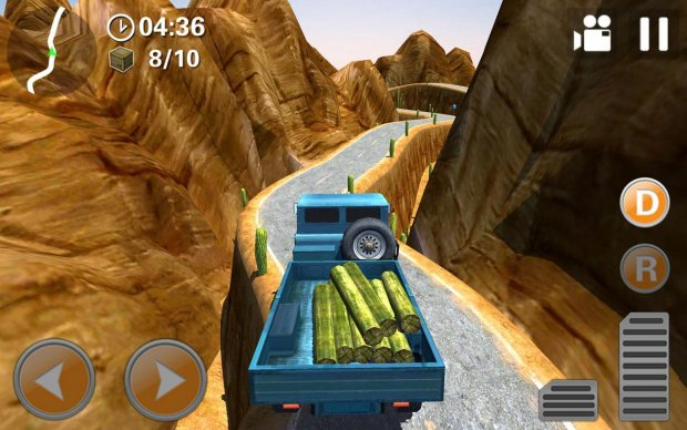 Off-Road 4x4 Hill Driver