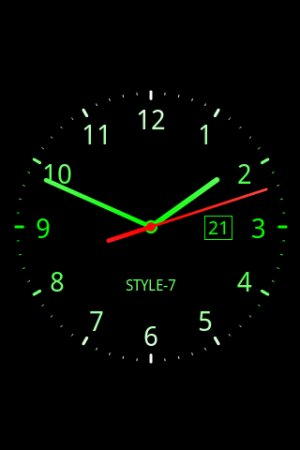 https://play.google.com/store/apps/details?id=com.style_7.analogclocklivewallpaper_7