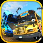 School bus demolition derby – сумасшедшие автобусы в гонках на выживание!