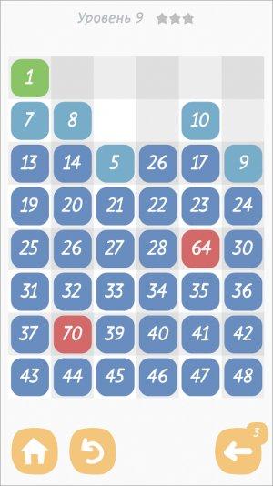 Делилка - головоломка о цифрах