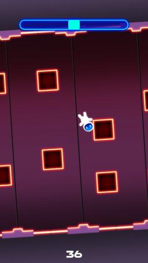 Neon spaceman