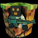 Cube Army Sniper Surviavl – Армия Выживания: Крафт Снайпер