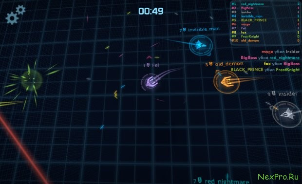 Space Grid: Arena