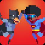 Pixel Super Heroes – город героев