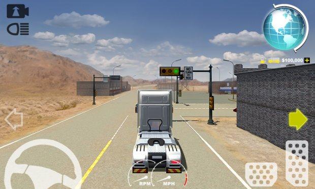 США 3D Truck Simulator 2016