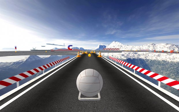 BasketRoll 3D: Управляй мячом