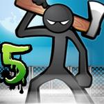 Anger of Stick 5 ( action ) – непростое сражение