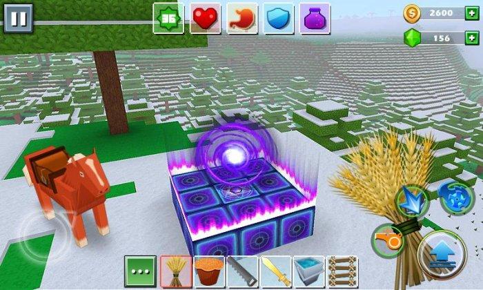 Мир кубов - Exploration Craft