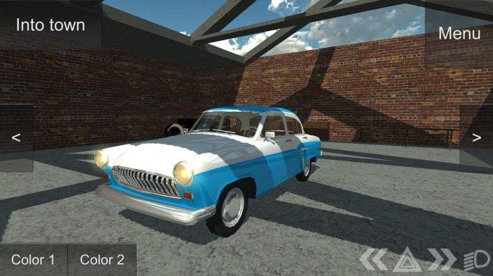 Russian Classic Car Simulator