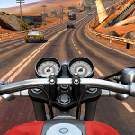 Moto Rider Go Highway Traffic – современный мотораннер