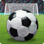 Фингер-футбол: свободный удар