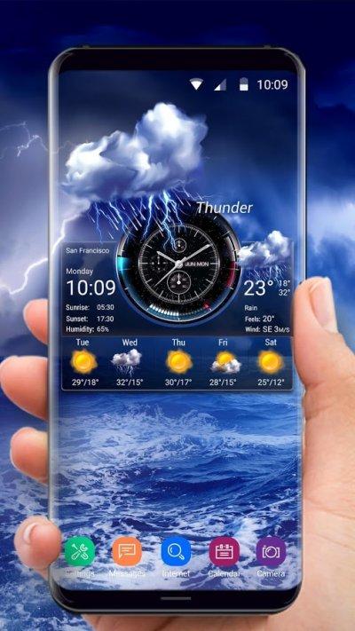 приложение прогноз погоды для андроид