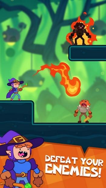 Скриншот игры Wizard Mike